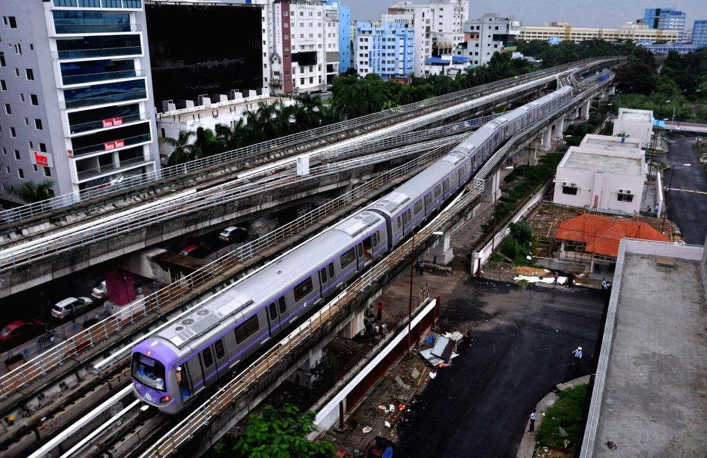 Kolkata Metro. (Photo: Kuntal Chakrabarty/IANS)