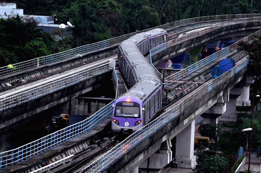Kolkata Metro. (Photo: Kuntal Chakrabarty/IANS)