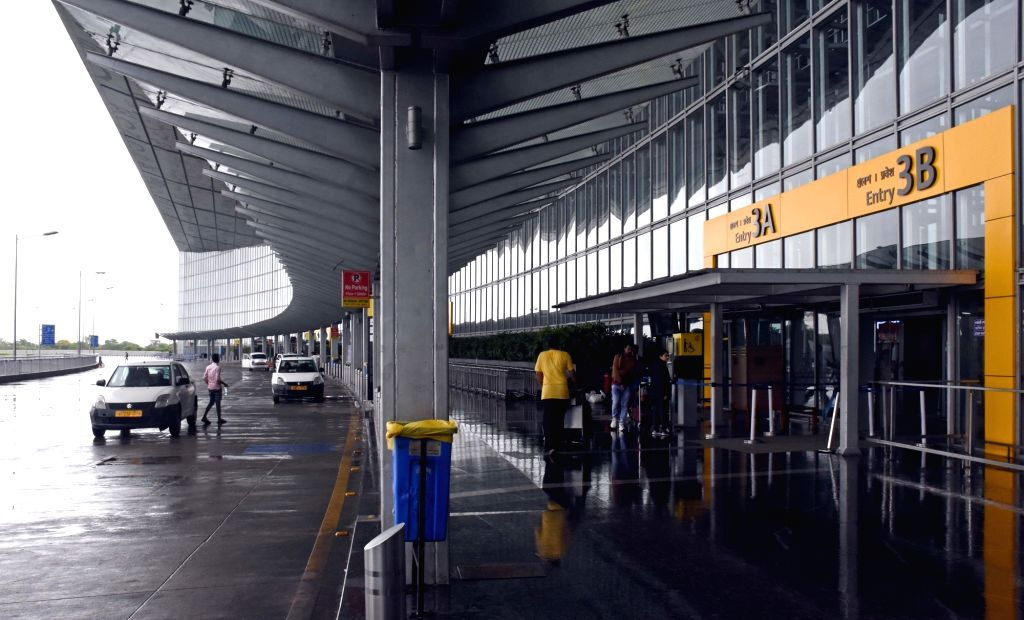 Kolkata: Passengers at the Netaji Subhash Chandra Bose International Airport as operations at the airport resumed after hours of closure due to severe cyclonic storm Fani, in Kolkata on May 4, 2019. (Photo: IANS)