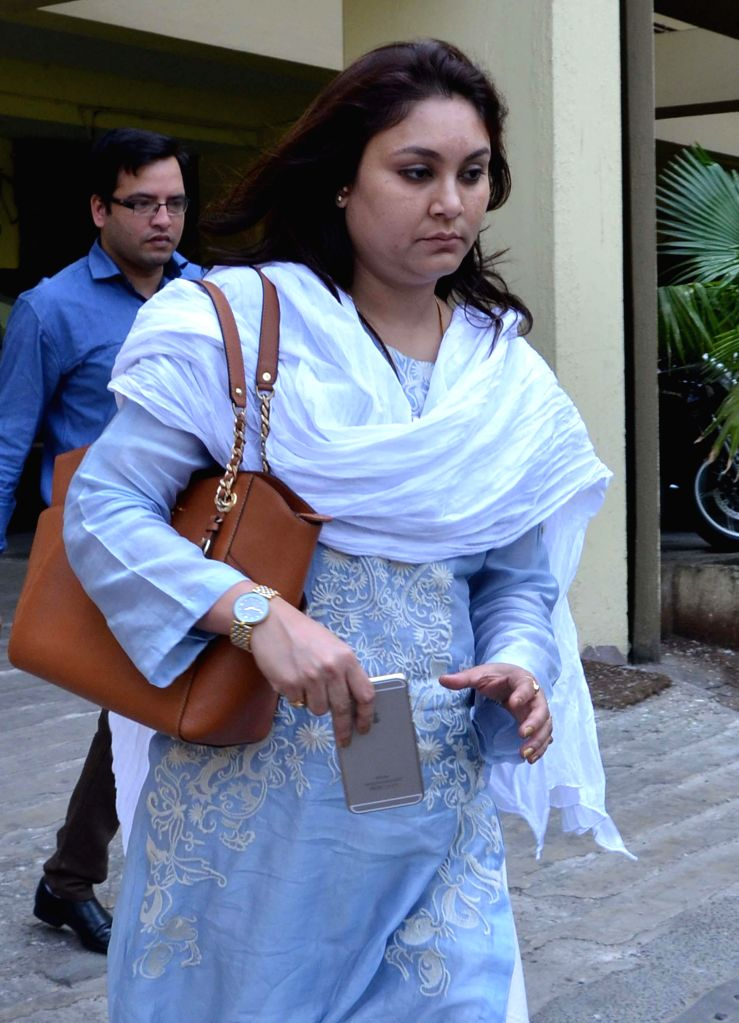 Riniki Bhuyan Sarma, the wife of former Assam minister Himanta Biswa Sarma comes out after appearing before ED (Enforcement Directorate) in connection with the multi-crore-rupee Sardha chit ... - Himanta Biswa Sarma