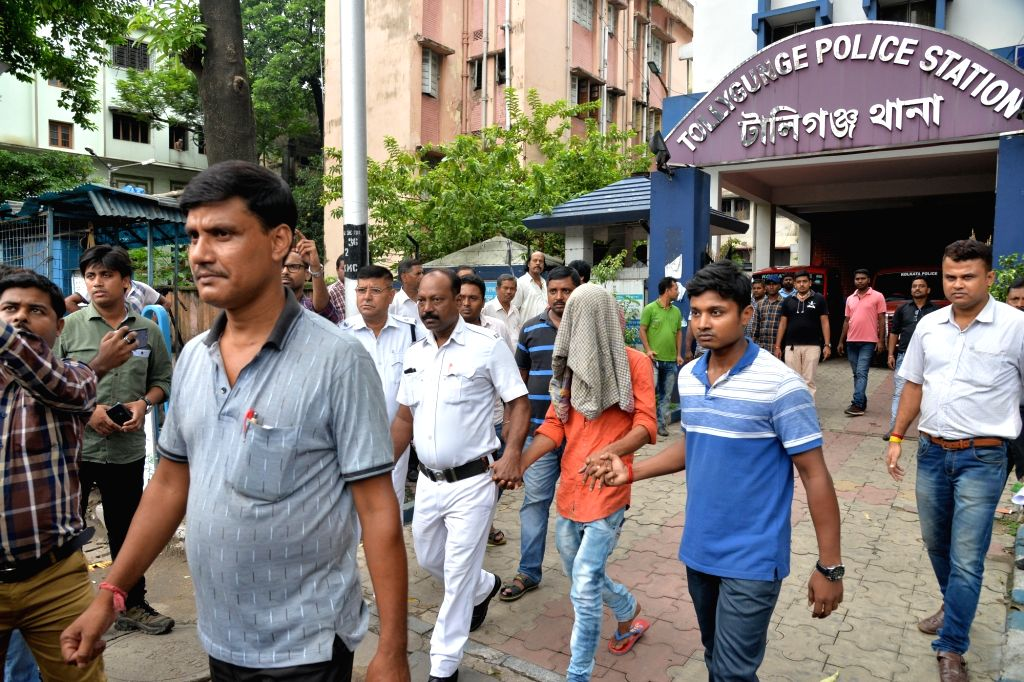 Kolkata: Two persons have been arrested and four others are being questioned in the case of a mob attack at the Tollygunj police station in South Kolkata on Aug 13, 2019. A group of 40-50 people, mostly women, from the Chetla slum area allegedly atta