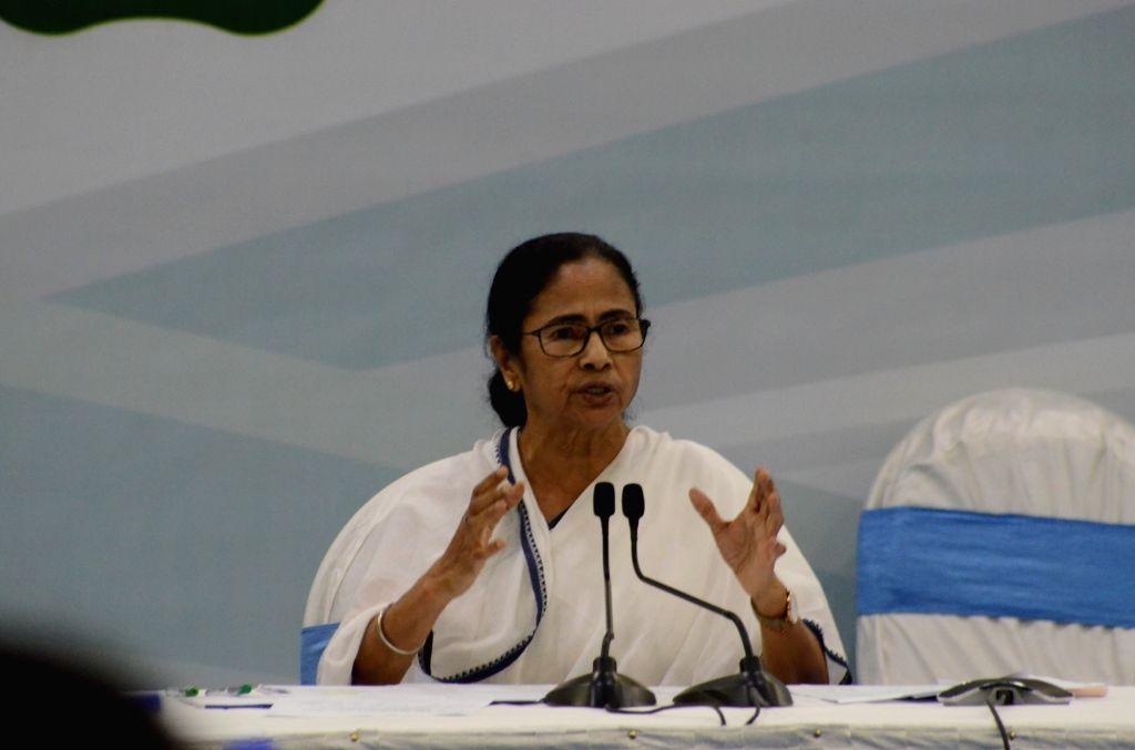 Kolkata: West Bengal Chief Minister Mamata Banerjee - Mamata Banerjee