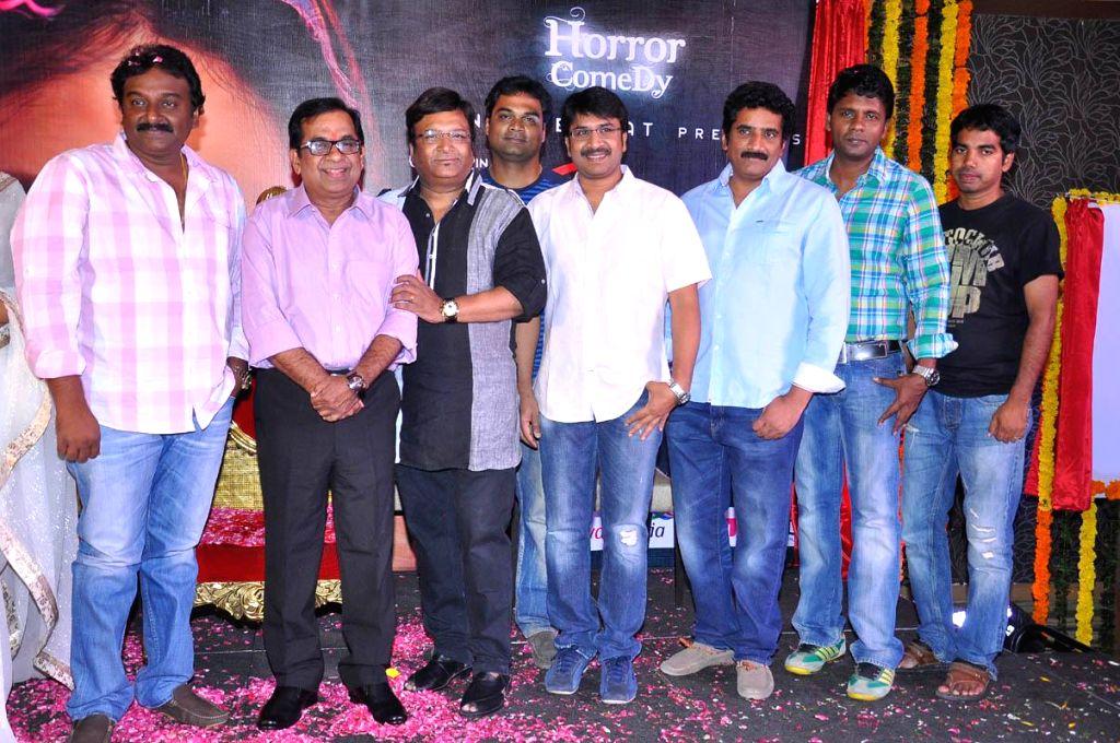 Kona Venkat presenting Geetanjali film first look release function held at Hyderabad on Friday 18th April.
