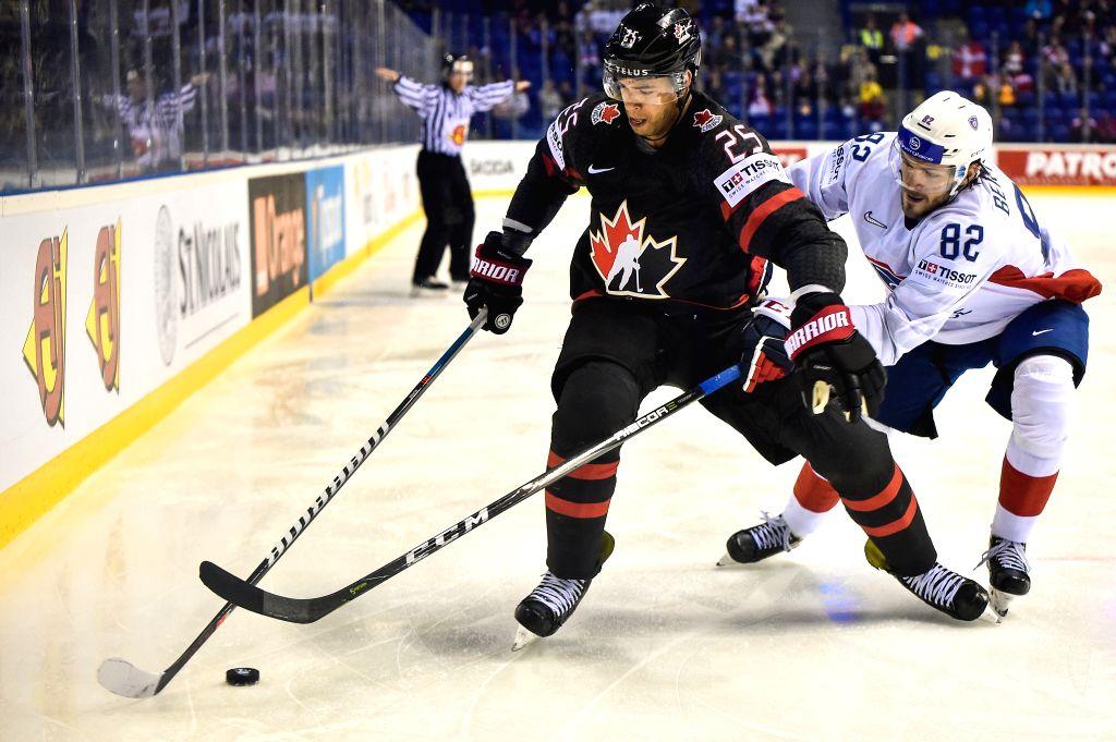 Slovakia Kosice Ice Hockey Iihf World Championship Group A Can Vs Fra
