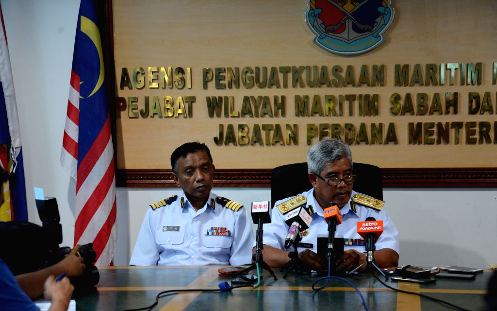 MALAYSIA-KOTA KINABALU-SUNKEN BOAT-SEARCH-CONTINUING