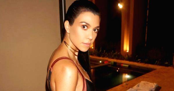 Kourtney Kardashian. (Photo: Twitter/@kourtneykardash) - Kourtney Kardashian