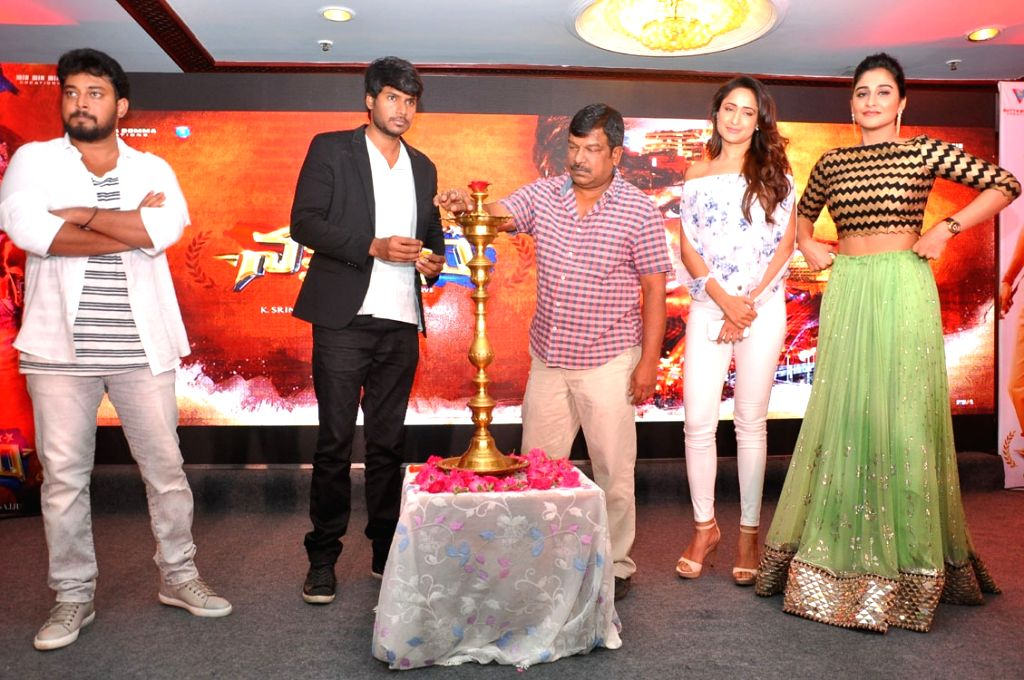Krihsna Vamsi directed Nakshatram movie teaser launch held at Taj Banjra Hotel, Banjara Hills, Hyderabad in May 7, 2017
