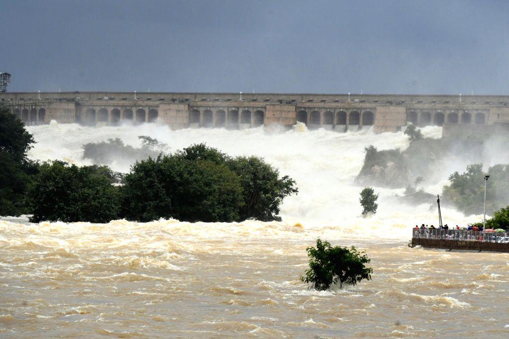 Krishnaraja Sagar dam. (File Photo: IANS)