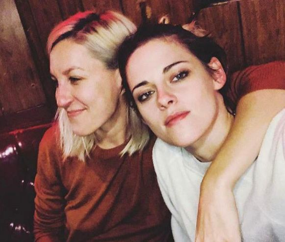 Kristen Stewart's girlfriend posts a mushy pic of the couple.