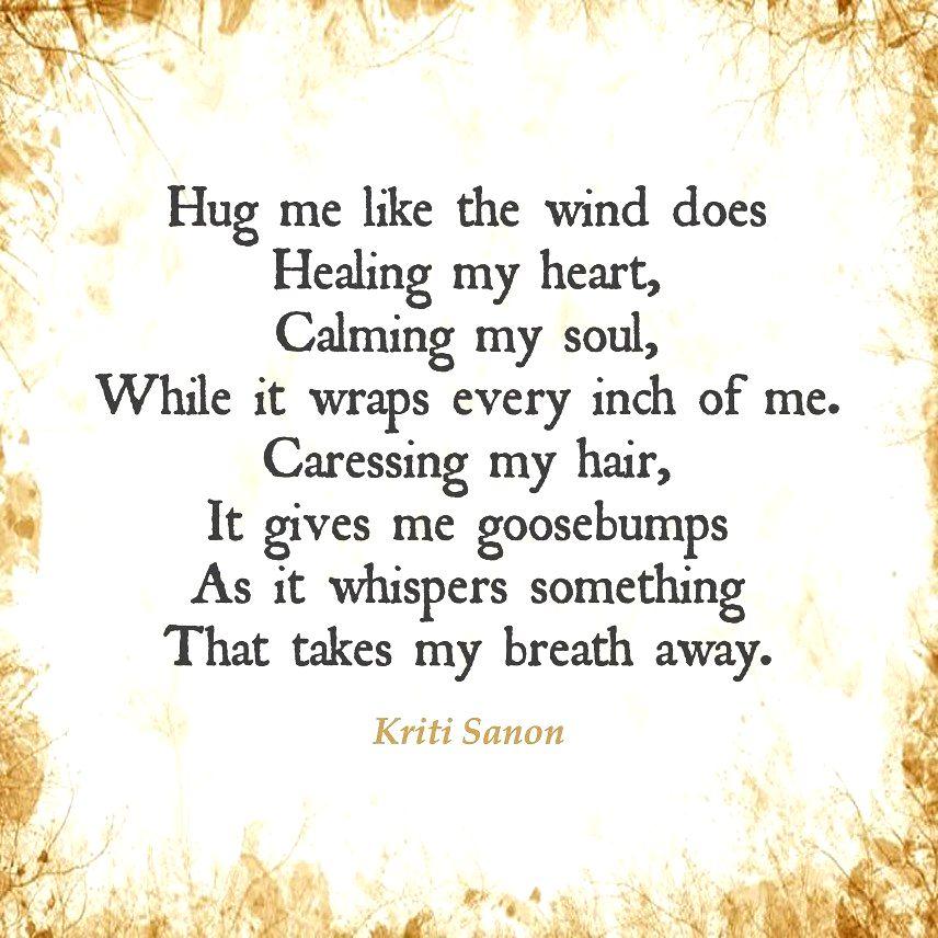 Kriti Sanon channels her inner poet for new post.