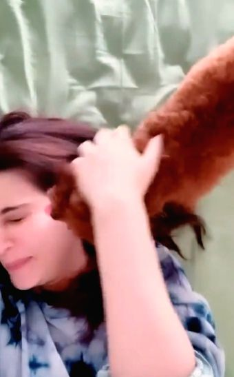 Kriti Sanon reveals her special 'morning facial' routine.(Photo:Instagram)