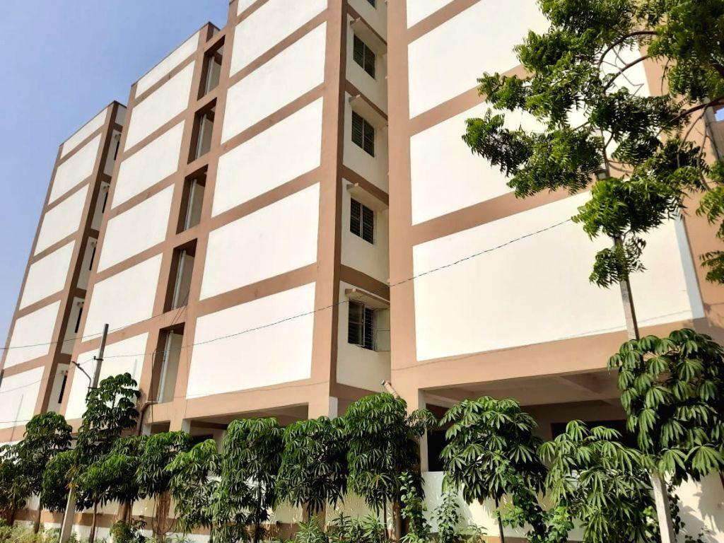 KTR inaugurates houses built under 2BHK Dignity Housing scheme.