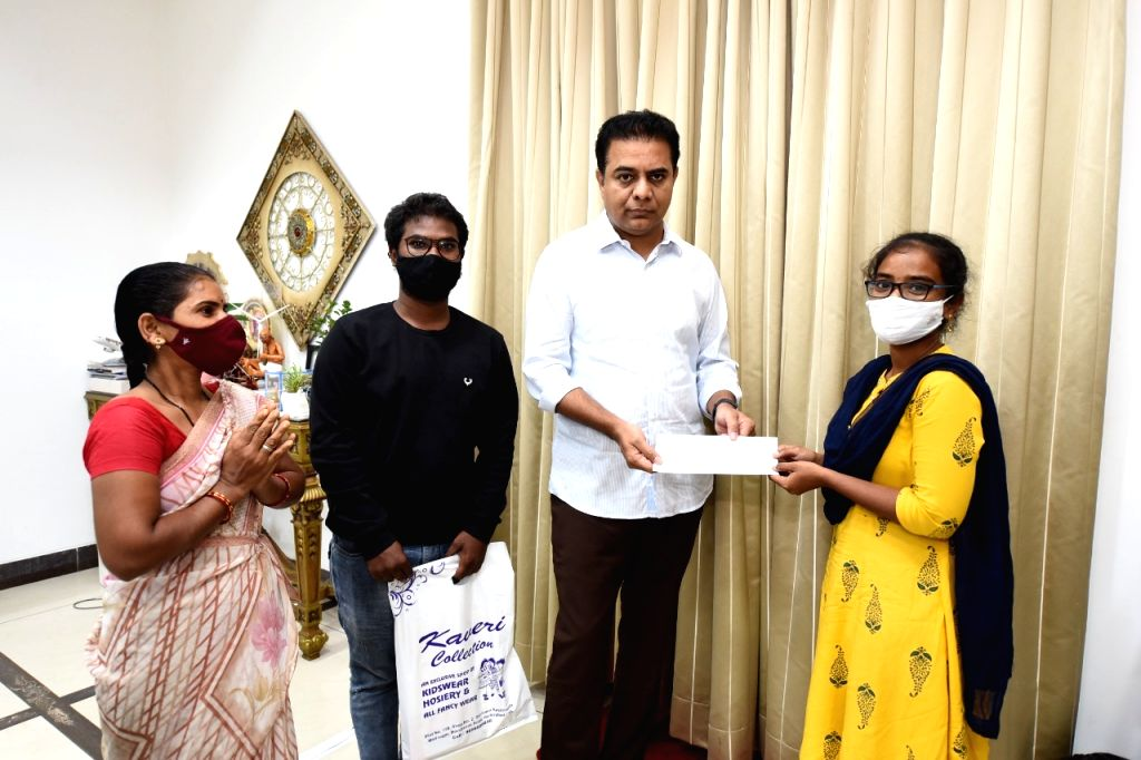KTR lends helping hand to tribal girl struggling to pursue MBBS
