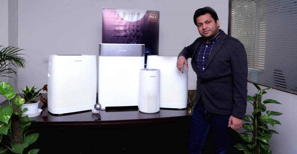 Kukku air purifier launched in India..