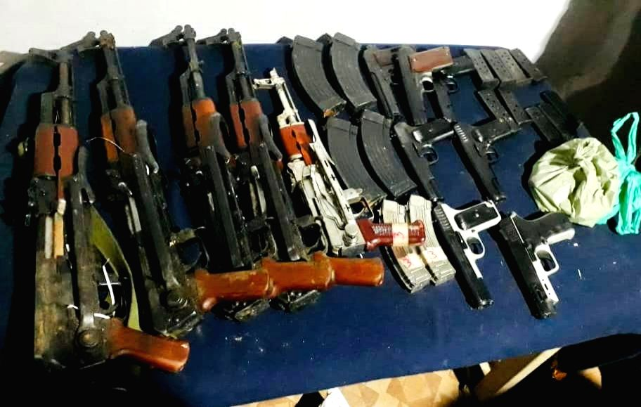 Kupwara Police 'Recovers' Huge Cache of Arms, Ammunition in Karna kupwara has claimed to have recovered a huge cache of arms and ammunition in frontier Karnah sector of this north-Kashmir district .