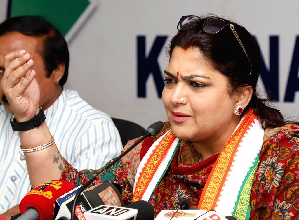Kushboo Sundar (File Photo: IANS)