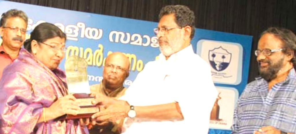 Kuttyedathi Vilasini honoured