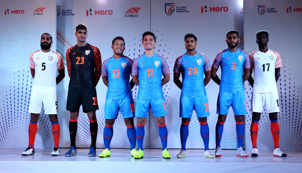 new style a6250 caaa3 Launch of the Indian National Football Team's new jersey