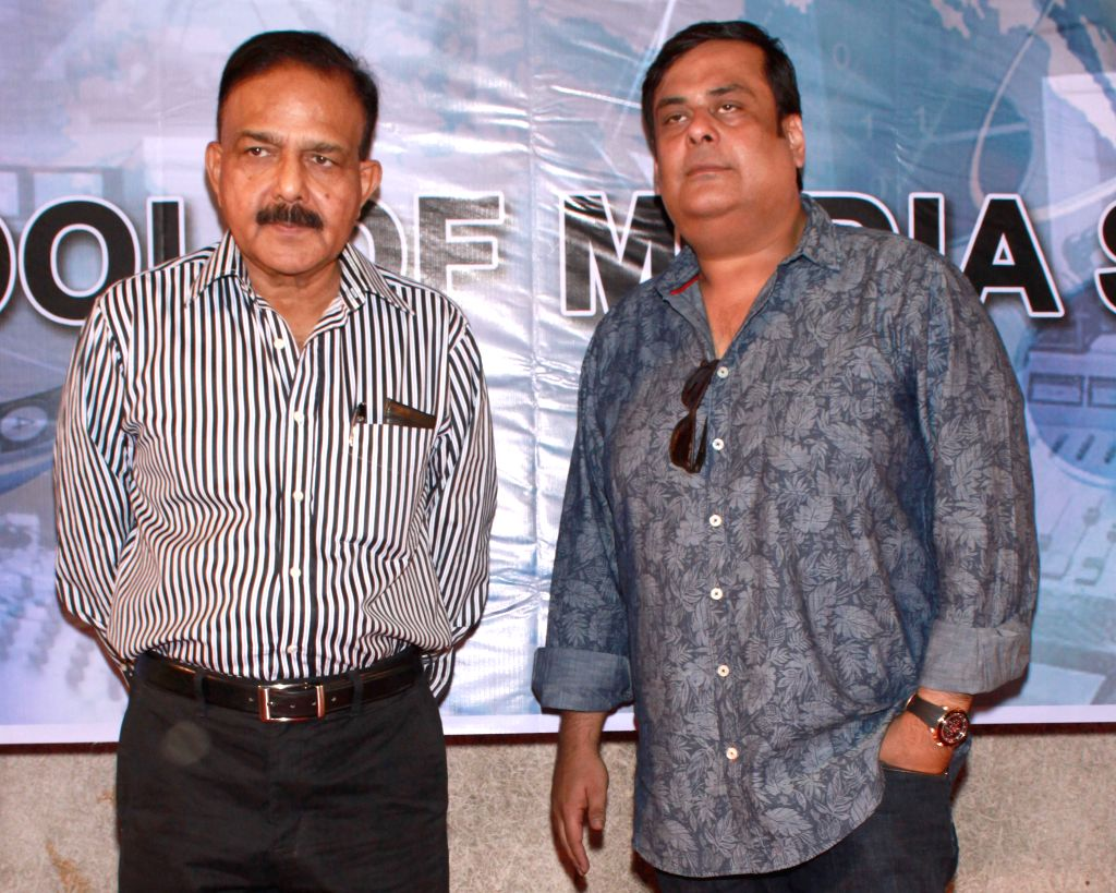 (L ) Social activist and founder of the NGO Prayas Amod Kanth -investigating officer for the notorious Charles Sobhraj case - during a press conference to promote their upcoming film `Main Aur ...
