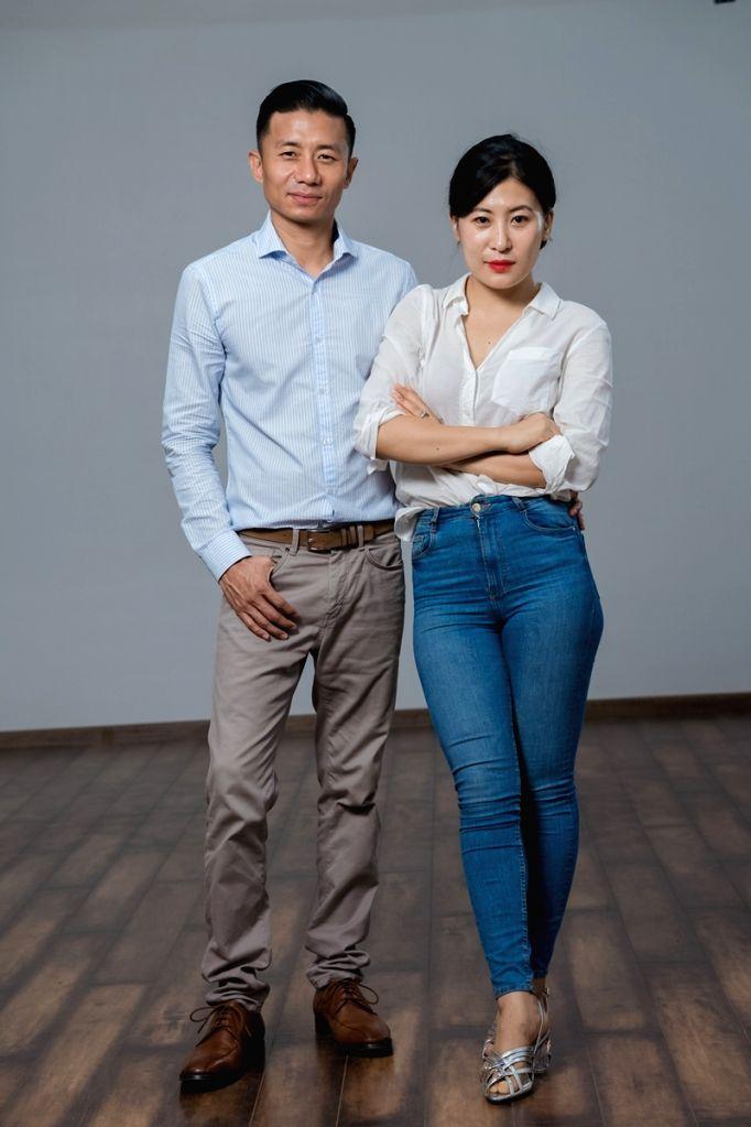 (L to R) Beauty Barn CEO Inoto Kinimi and MD Toinali Kinimi.