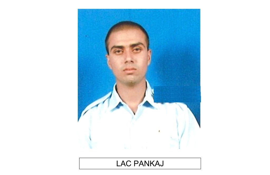 LAC Pankaj one of the 13 persons who died in An-32 aircraft crash in Arunachal Pradesh on June 3.