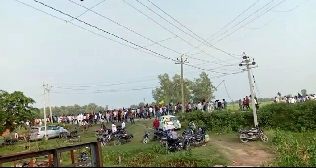 Lakhimpur Kheri violence.