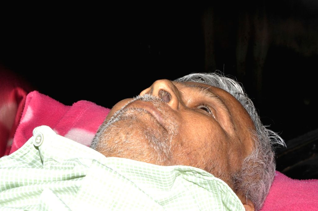 Lakshminarayana, 70-year-old man who died standing in a queue outside a Andhra Bank branch in Marredpally of Secunderabad on Nov 15, 2016.