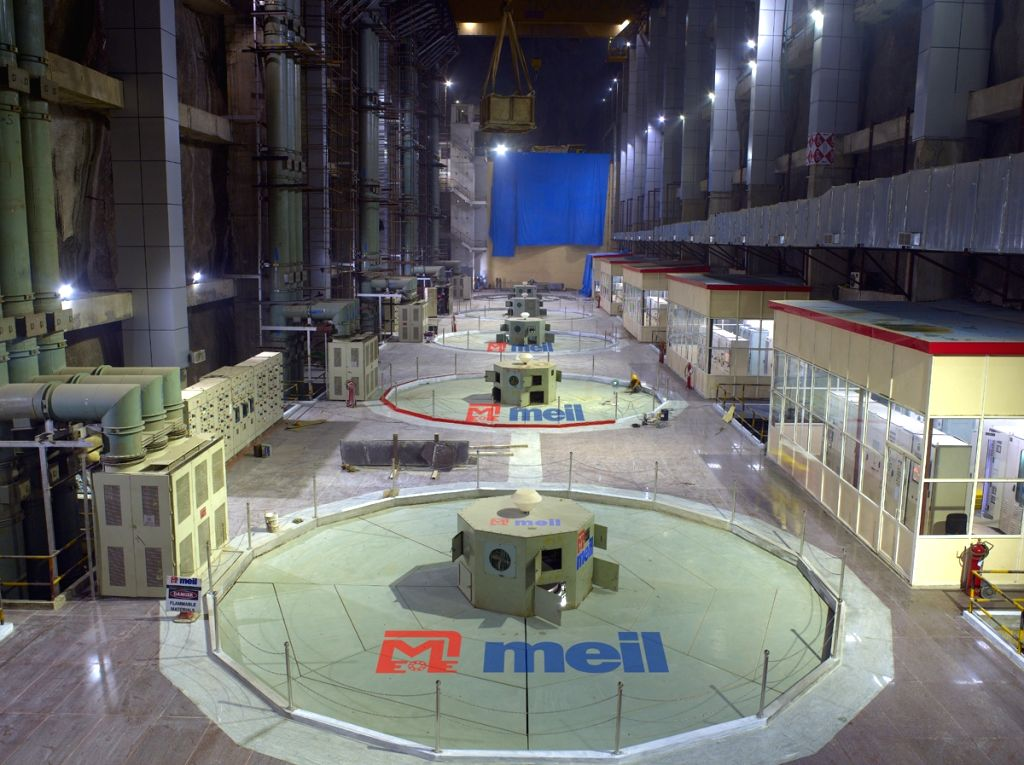Lakshmipur: Lakshmipur pump house, a key component of Kaleshwaram Lift Irrigation Project (KLIP) and claimed to be the world's largest pump house has successfully commenced its operations. Megha Engineering and Infrastructures Limited (MEIL) unveiled