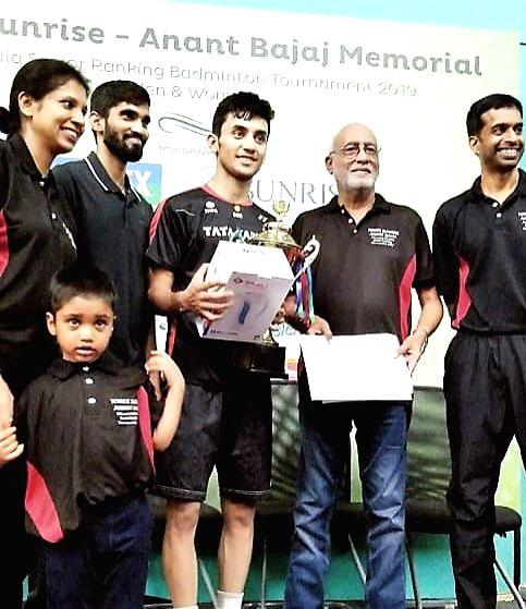 Lakshya Sen at All India Senior Ranking Badminton Tournament-2019