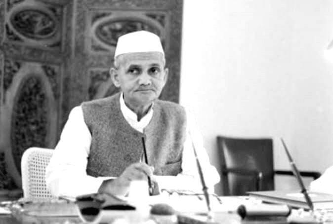 Lal Bahadur Shastri.