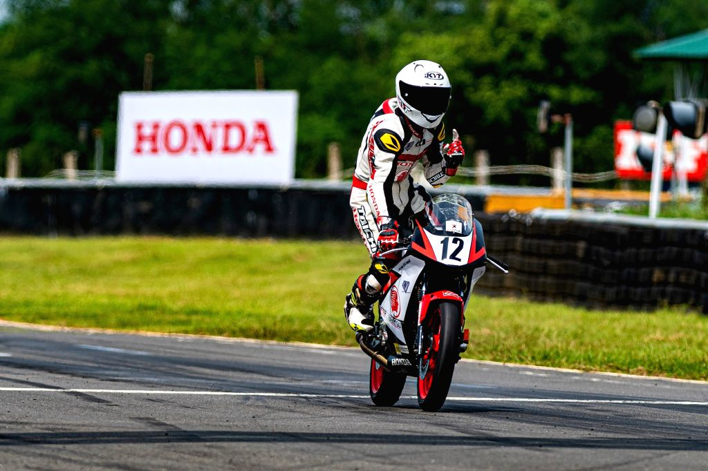Lal Nunsanga Stealing the show with his fearless IDEMITSU Honda India Talent Cup CBR150R