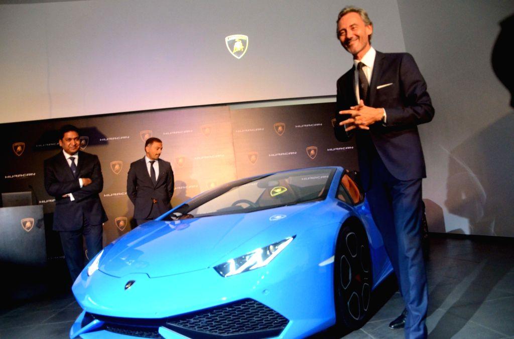 Lamborghini Huracan Lp 610 4 Spyder Launch