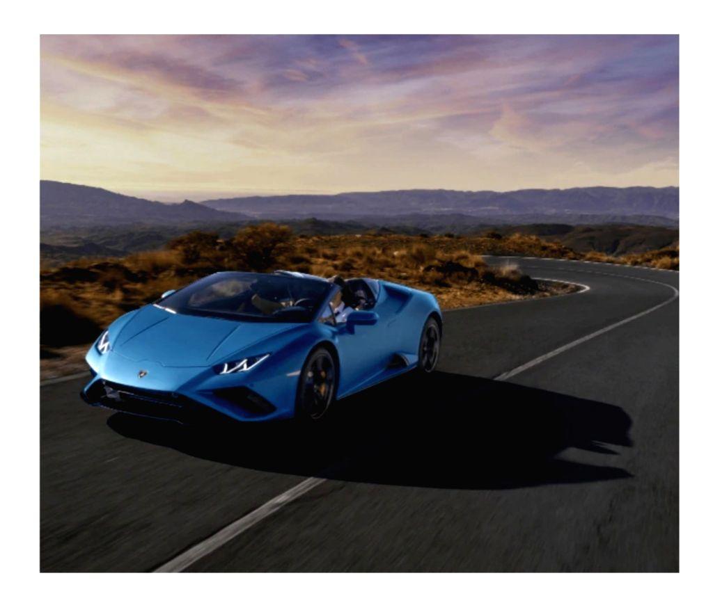 Lamborghini launches new Huracan sports car using AR technology.