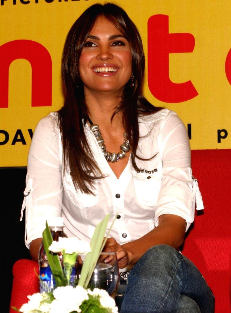 "Lara Dutta at a press meet for the film ""Do Knot Disturb"" in New Delhi on Tuesday 15 Sep 09."