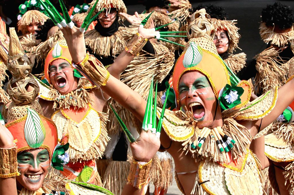 LAS PINAS, July 26, 2019 - Performers participate in the street dancing competition of the Water Lily Festival 2019 in Las Pinas City, the Philippines, July 26, 2019. The Water Lily Festival is an ...