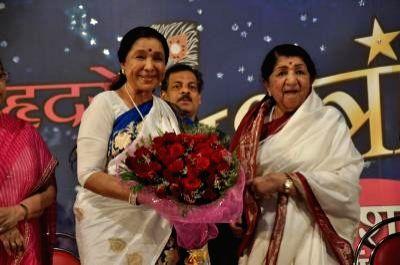 Lata Mangeshkar and Asha Bhosle. (File Photo:  IANS) - Asha Bhosle