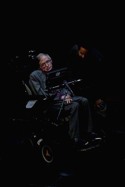 :Late Stephen Hawking..