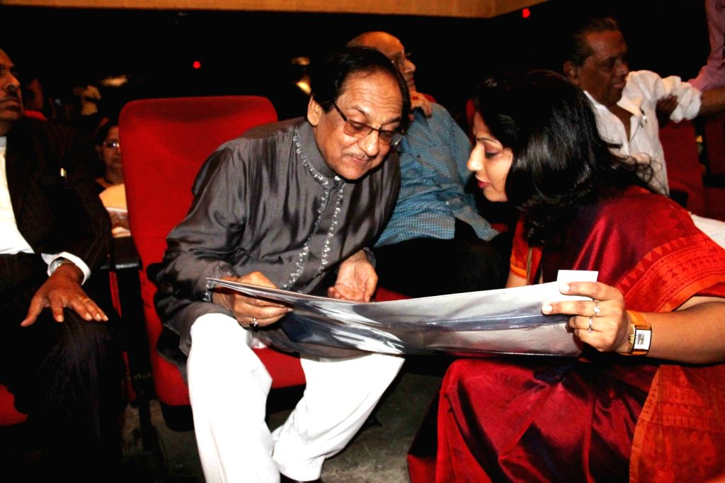 Late Ustad Bade Gulam Ali Khan`s Music award 2021 given to Pakistani Gazal King Gulam Ali at Ravindera Bharthi on 21st Jan by Hyderabad Cultural secretary Ramna Chary and veteran film director ...