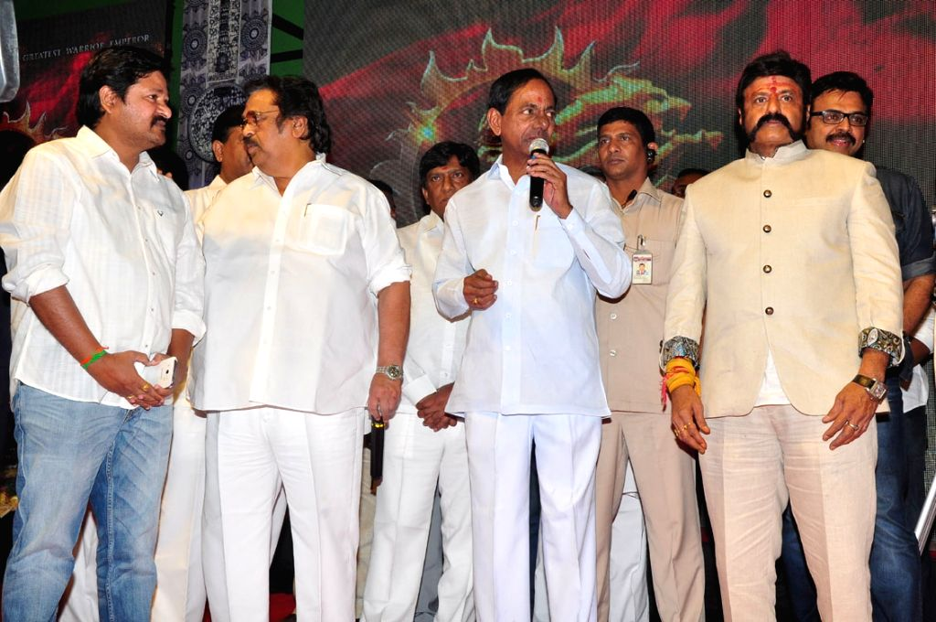 Launch of film Gautamiputra Satakarni.