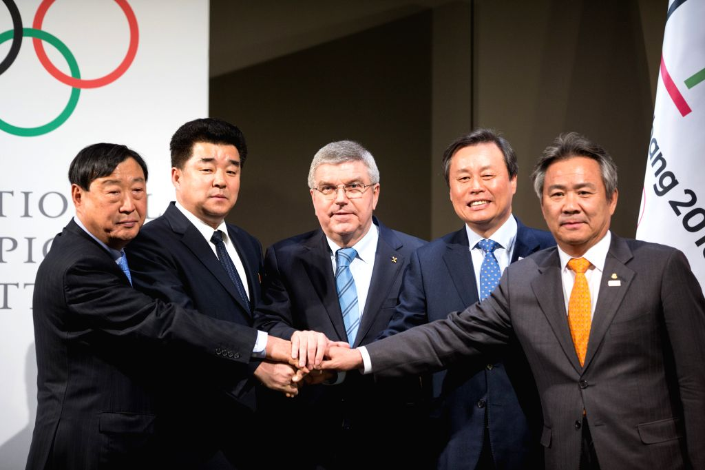 LAUSANNE, Jan. 20, 2018 - Lee Hee-beom, president of the PyeongChang Organizing Committee for the 2018 Olympic and Paralympic Winter Games (POCOG), the Democratic People's Republic of Korea (DPRK)'s ... - Kim I