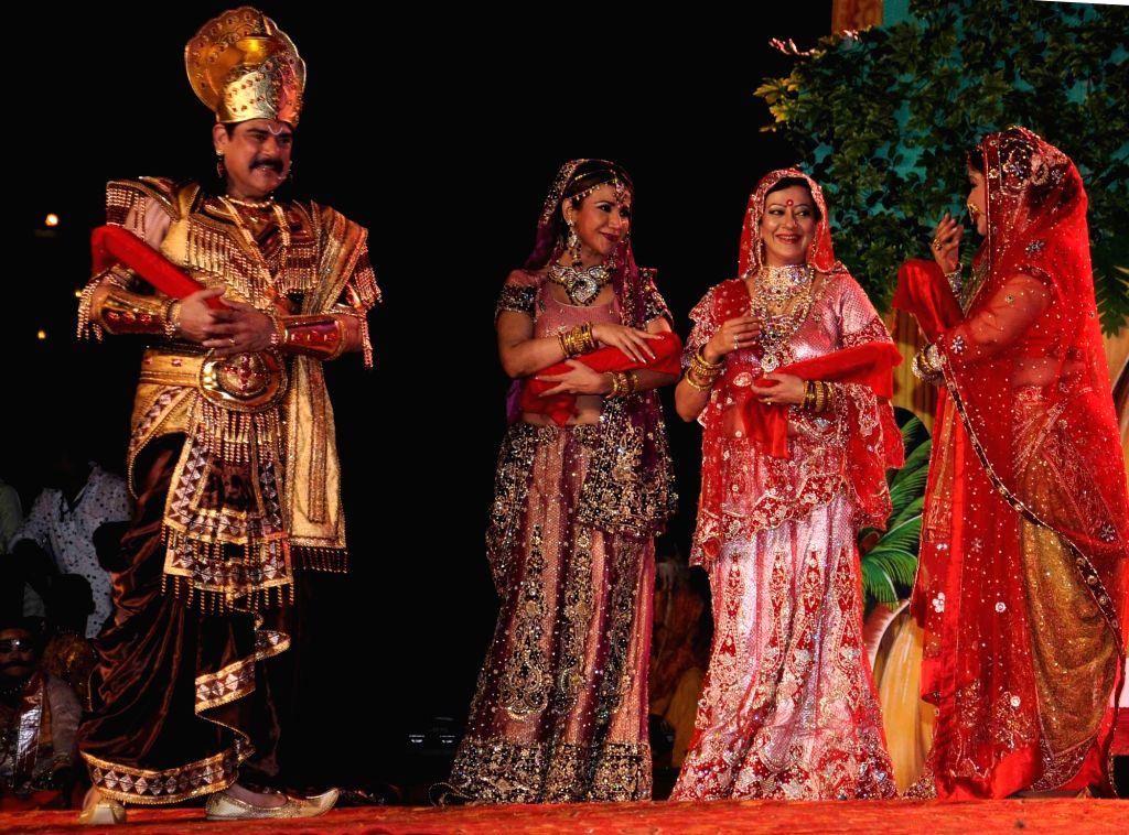 Lav Kush Ramlila underway in New Delhi on Oct 2, 2016.