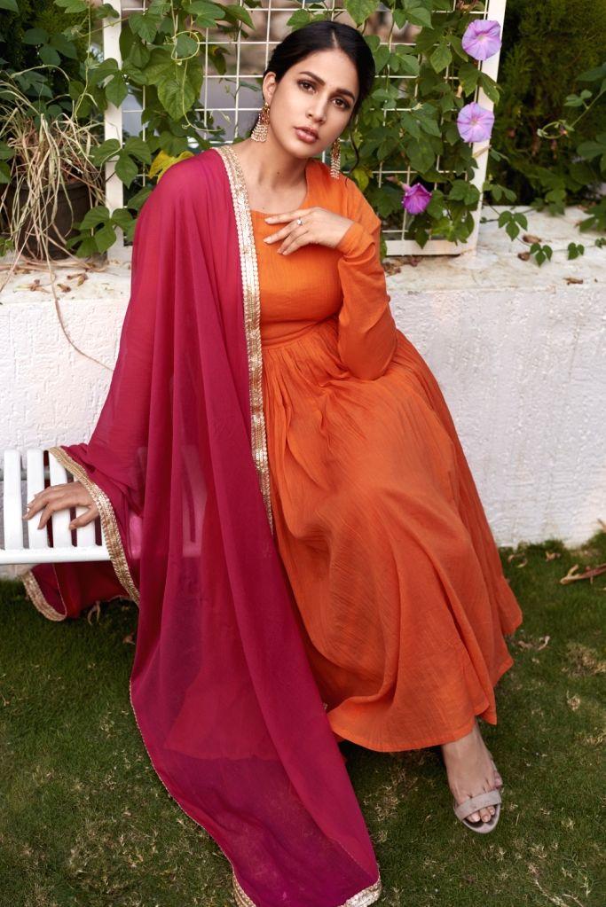 Lavanya Tripathi Stills on Thursday, April 22, 2021. - Lavanya Tripathi Stills