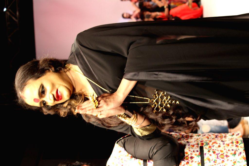 Laxmi Narayan Tripathi has walked the ramp for Jewellery designer Akassh K Aggarwal - Laxmi Narayan Tripathi