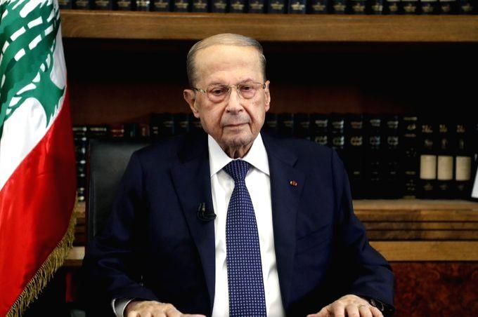 Lebanese President Michel Aoun.(pic credit: twitter.com/General_Aoun)