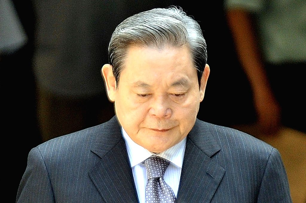 Lee Kun-hee, Chairman of South Korea's tech giant Samsung Electronics, died at the age of 78. (Photo: Courtesy, SCMP)