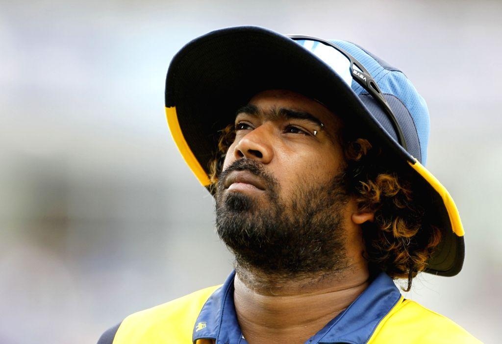 Leeds: Sri Lanka's Lasith Malinga during the 44th match of World Cup 2019 between India and Sri Lanka at Headingley Stadium in Leeds, England on July 6, 2019. (Photo: Surjeet Yadav/IANS) - Surjeet Yadav