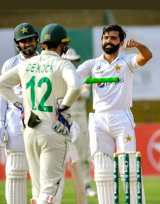 Left-handed batsman Fawad Alam scored his third Test century and the second after being recalled to the Test side after a gap of 11 years as Pakistan staged a revival in the first Test against South ... - Fawad Alam