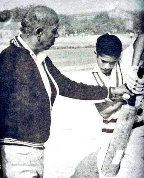 Legendary Indian batsman Sachin Tendulkar on Thursday paid tributes to his late childhood coach Ramakant Achrekar on the occasion of Teacher's Day. Taking to Twitter, Tendulkar went down memory lane ... - Sachin Tendulkar
