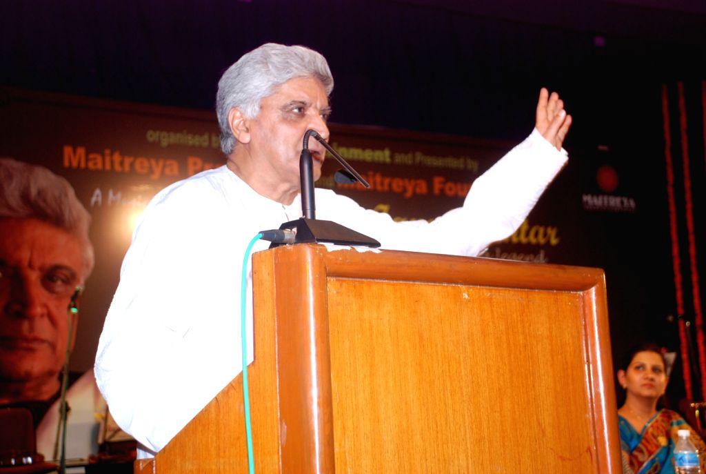 Legendary Singer Lata Mangeshkar during the Javed Akhtar`s Bestselling Book `Tarkash` Launched in Marathi in Mumbai on Saturday, 19 May 2012.