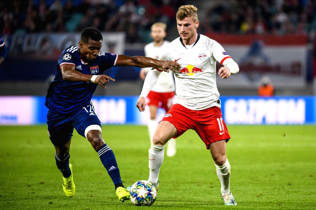 Image result for lyon vs rb leipzig pics in champions league 2019